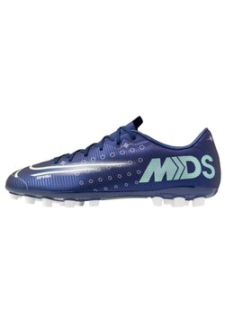 Nike Performance - MERCURIAL VAPOR 13 ACADEMY MDS AG - Korki Lanki - blue void/metallic silver/white/black