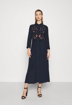 YAS - YASSAVANNA DRESS - Maxi-jurk - dark sapphire