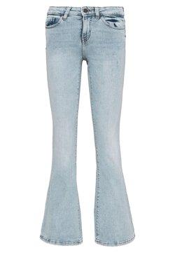 Noisy May Tall - NMMARLI VINTAGE - Flared Jeans - light blue denim