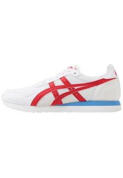ASICS SportStyle - TIGER RUNNER UNISEX - Sneaker low - white/classic red