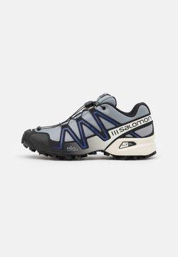 Salomon - SPEEDCROSS 3 UNISEX - Sneaker low - monument/black/clematis blue