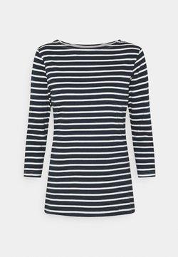 Selected Femme Tall - SLFSTANDARD BOAT NECK TEE TALL - Langarmshirt - bright white
