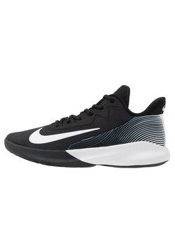 Nike Performance - PRECISION 4 - Indoorskor - black/white