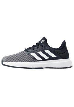 adidas Performance - GAMECOURT BARRICADE CLOUDFOAM TENNIS SHOES - Tennisschoenen voor alle ondergronden - legend ink/footwear white