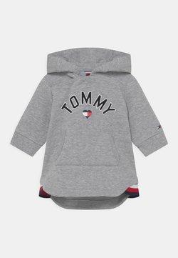 Tommy Hilfiger - BABY HOODED DRESS - Vestido informal - grey