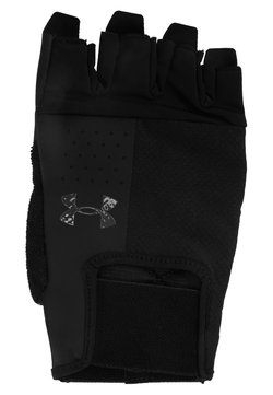 Under Armour - ENTRY TRAINING GLOVE - Kurzfingerhandschuh - black/pitch grey