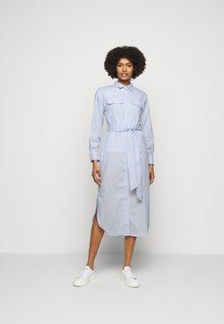 Lauren Ralph Lauren - BROADCLOTH DRESS - Blusenkleid - blue/white multi