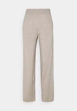 Selected Femme - SLFINKA LONG PANT - Bukser - sand