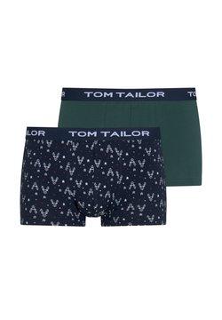 TOM TAILOR - IM ZWEIERPACK - Shorty - green allover