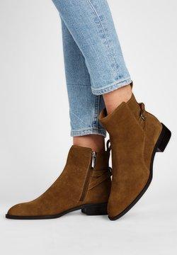 What For - Ankle Boot - sandfarben