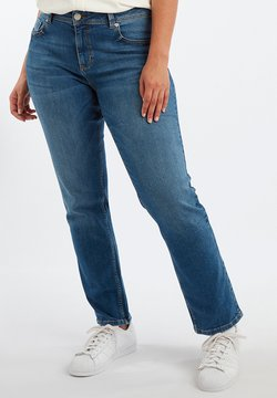 MS Mode - ROSE - Straight leg jeans - blue