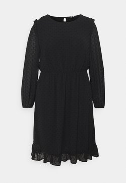 ONLY Carmakoma - CARMALONE DRESS - Freizeitkleid - black