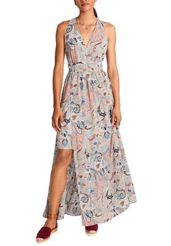 comma - MIT ALLOVERMUSTER - Maxikleid - make up paisley