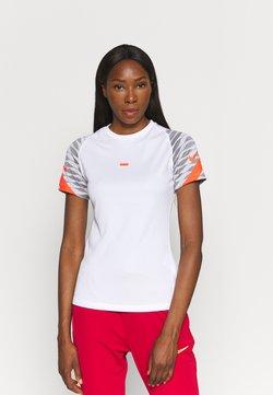 Nike Performance - STRIKE 21 - Printtipaita - white/black/bright crimson