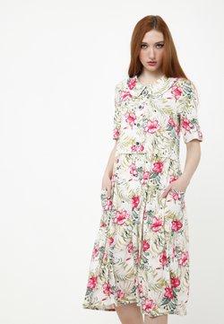 Madam-T - BELLA - Freizeitkleid - beige, rosa