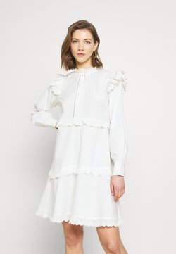 YAS - YASCHLOEL LS DRESS - Blousejurk - star white