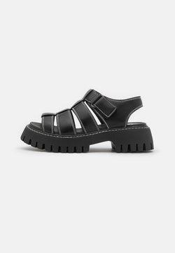Koi Footwear - ZANDIA - Sandales à plateforme - black