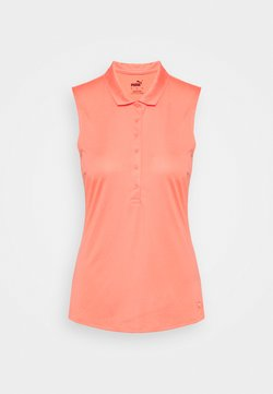 Puma Golf - ROTATION SLEEVELESS - Funktionsshirt - georgia peach