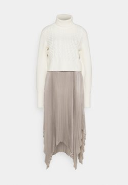 AllSaints - LERIN CARINA DRESS SET - Strickpullover - white/pearl grey