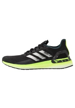 adidas Performance - ULTRABOOST PB - Laufschuh Neutral - core black/silver metallic/signal green