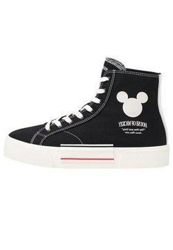 Bershka - Sneaker high - black