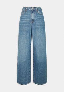 Topshop - WIDE LEG - Jeans baggy - mid blue