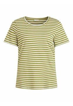 Vila - VISUS NOOS - T-Shirt print - green olive 2