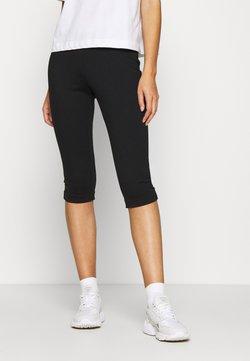 Calvin Klein Jeans - MILANO CAPRI PANT - Shorts - black