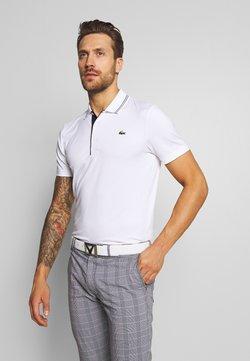 Lacoste Sport - BASIC GOLF - Sports shirt - white/navy blue