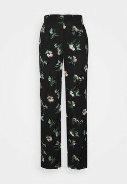 Vero Moda Tall - VMSIMPLY EASY  WIDE PANT - Stoffhose - black