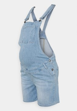 LOVE2WAIT - DUNGAREE SHORT - Dungarees - light wash