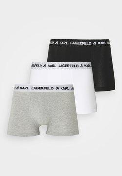 KARL LAGERFELD - LOGO TRUNK 3 PACK - Shorty - black/grey/white