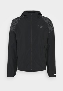 Nike Performance - RUN FLASH - Laufjacke - black/silver