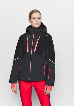 CMP - WOMAN JACKET FIX HOOD - Skijacke - antracite
