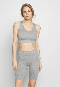 Free People - LIGHT SYNERGY CROP - Sujetador deportivo - grey