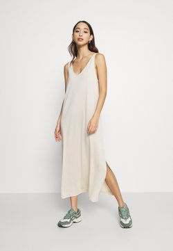 Weekday - ABBY DRESS - Maxi-jurk - light beige