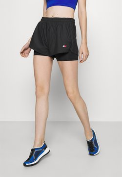 Tommy Hilfiger - SHORT 2-IN-1 - Urheilushortsit - black