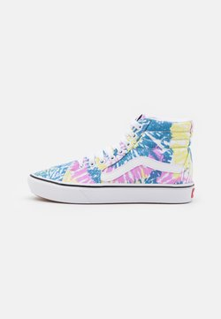 Vans - COMFYCUSH SK8 - Korkeavartiset tennarit - orchid/true white