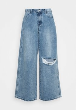 Missguided - LOW RISE BOYFRIEND - Jeans Relaxed Fit - light blue