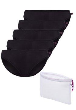 BeeDees - 5PACK - Slip - schwarz