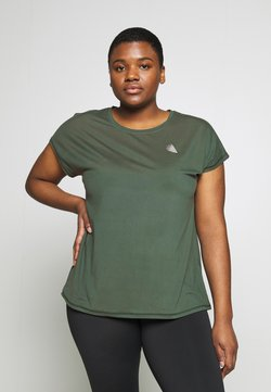 Active by Zizzi - ABASIC ONE - T-Shirt basic - green gables
