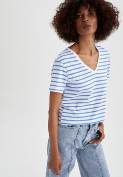DeFacto - T-Shirt print - blue