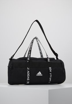 adidas Performance - 4ATHLTS ESSENTIALS 3STRIPES SPORT DUFFEL BAG - Sac de sport - black/white