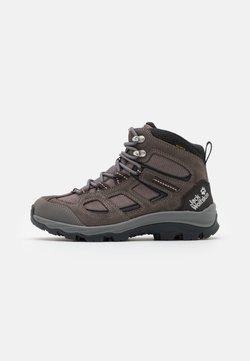 Jack Wolfskin - VOJO 3 TEXAPORE MID - Hiking shoes - tarmac grey/pink