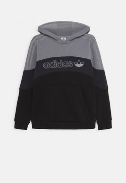 adidas Originals - HOODIE - Kapuzenpullover - grey/grey/black