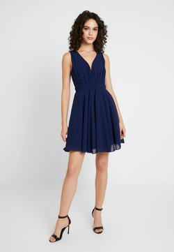TFNC - VIVIAN MINI SKATER DRESS - Cocktailkleid/festliches Kleid - navy