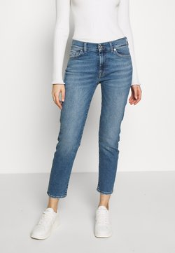 7 for all mankind - ROXANNE - Jeans Straight Leg - mid blue
