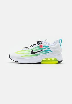 Nike Sportswear - AIR MAX EXOSENSE SE UNISEX - Baskets basses - white/black/volt/blue fury/flash crimson