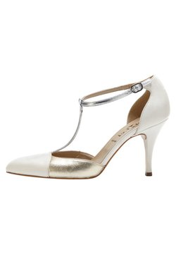 PoiLei - PALOMA - High Heel Pumps - silver/off-white/gold