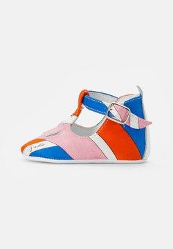 Emilio Pucci - SANDAL - Ensiaskelkengät - arancio/azzurro
